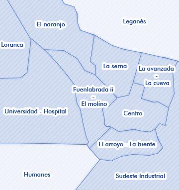 Mapa De Fuenlabrada Madrid Alquiler De Viviendas